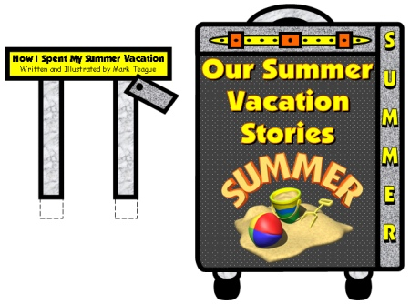 How I Spent My Summer Holiday Bulletin Board Display Ideas and Examples