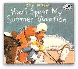How I Spent My Summer Vacation Book Cover and Creative Book Report Projects