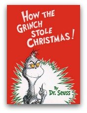 How The Grinch Stole Christmas Book Cover and Creative Book Report Projects