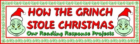 Christmas and december writing prompts creative writing topics and how the grinch stole christmas bulletin board display banner spiritdancerdesigns