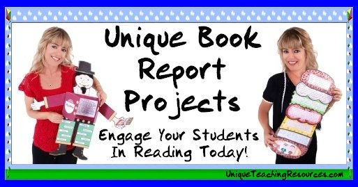 Click here to view fun book report project ideas for elementary school students.