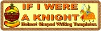 If I Were a Knight Castle Theme Bulletin Board Display Banner