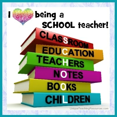 I love being a school teacher!