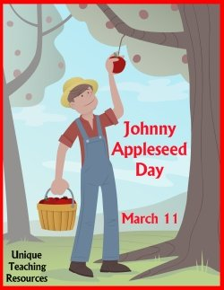 Johnny Appleseed Day March 11