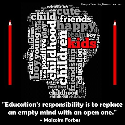 Education's responsibility is to replace an empty mind with an open one. Malcolm Forbes