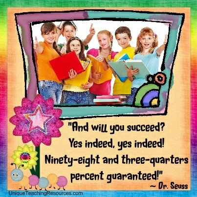 Famous Motivational Quotes By Dr Seuss - And will you succeed? Yes indeed, yes indeed! <br/>Ninety-eight and three-quarters percent guaranteed!