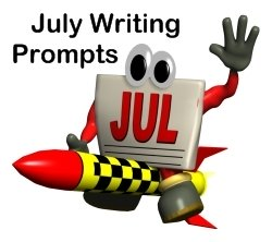July Creative Writing Prompts and Lesson Plans for Elementary School Teachers and Students