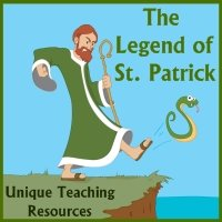 Legend of St. Patrick and Driving Snakes Out of Ireland