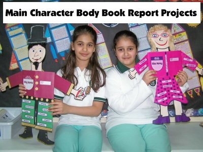 Fun Book Report Projects Examples and Ideas for Elementary School Students and Kids