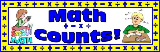 Free Math Bulletin Board Display Banner