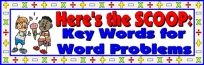 Math Key Words For Word Problems Display