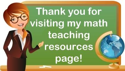 Math Teaching Resources For Elementary School Teachers