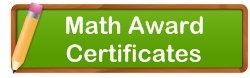 Math Awards and Certificates