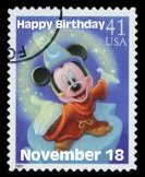 Mickey Mouse Birthday November 18