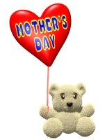 Mother's Day Bear Graphic