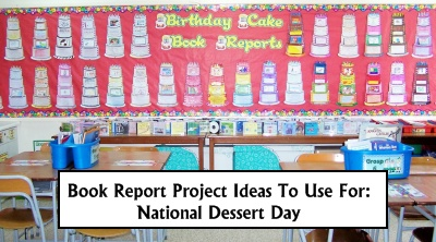 National Dessert Day October 14 Lesson Plan Ideas Wanted Poster