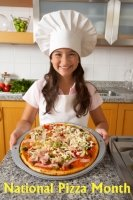 National Pizza Month Lesson Plans and Writing Prompts for Elementary School Students