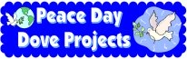 Peace Day Doves Bulletin Board Display Banner