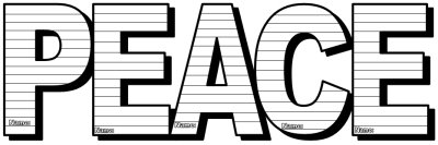 Peace Day Activities and Teaching Resources Letter Templates
