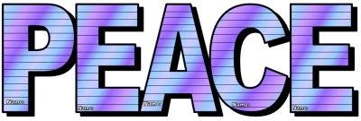 Peace Day Lesson Plans Purple Group Project Letters