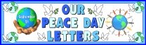 Peace Day Printable Worksheets Banner