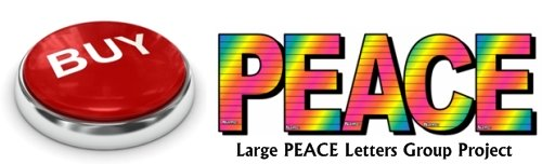 Buy Large Peace Letters Group Project Now