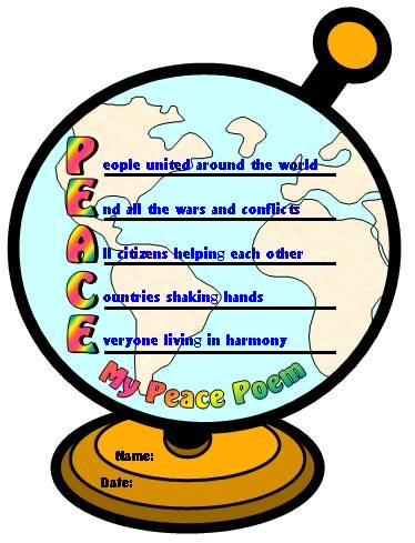 Peace Day Lesson Plans Activities Ideas And Group Project