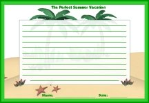 Perfect Summer Vacation Printable Worksheets