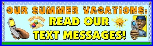 My Summer Vacation Back to School Activity Bulletin Board Display Classroom