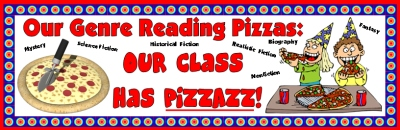 Reading Pizza Shaped Sticker and Incentive Charts