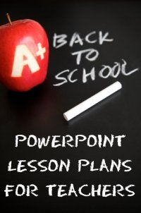 Back To School Powerpoint Lesson Plans for Elementary School Teachers