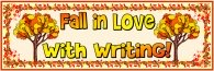 Fall in Love Writing Bulletin Board Display Banner