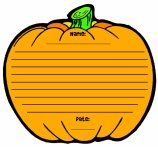 Halloween Pumpkin Patch Printable Worksheets for Language Arts