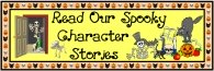Halloween Spooky Character Stories Bulletin Board Display Banner