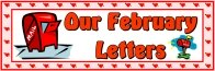 Valentine's Day February Letters Bulletin Board Display Banner