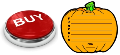 Buy Pumpkin Acrostic Poems Now