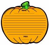 Pumpkin Halloween Printable Worksheet