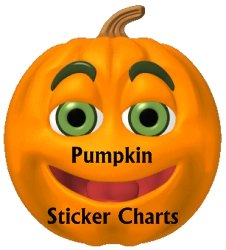 Halloween Teaching Resources Pumpkin Sticker Charts