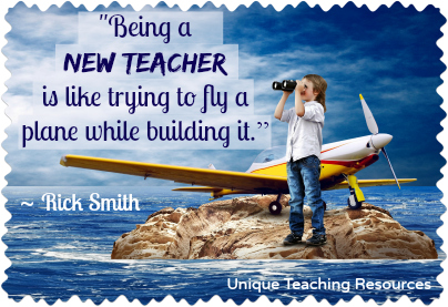 Funny quote about new school teachers.