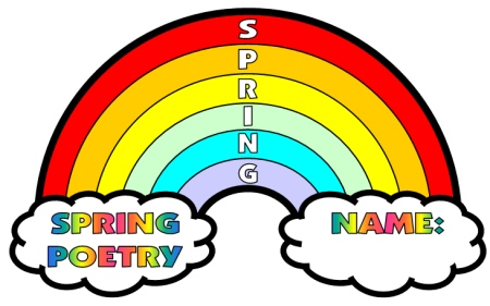 Spring Poems and Poetry Printable Worksheets