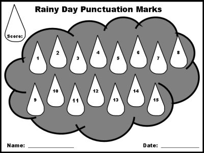 Punctuation Marks Spring Powerpoint Lesson Plans