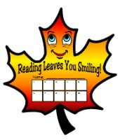 Reading Leaves You Smiling Fall and Autumn Sticker Charts
