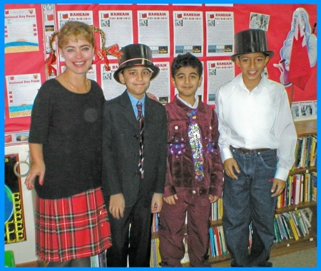 Class Roald Dahl Day Costumes as Willy Wonka