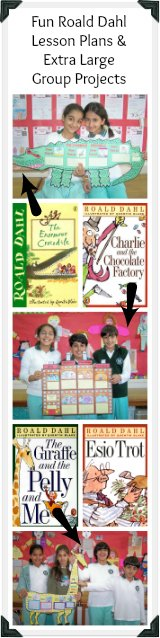 Roald Dahl Lesson Plans and Fun Group Projects