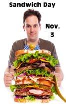 Sandwich Day November 3 Lesson Plans and Activities