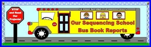 Elementary School Bus Bulletin Board Displays