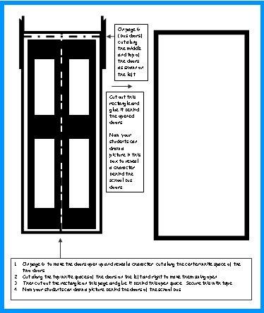 School Bus Doors for Group Project
