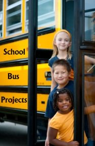 Fun School Bus Projects and Templates for Elementary Students