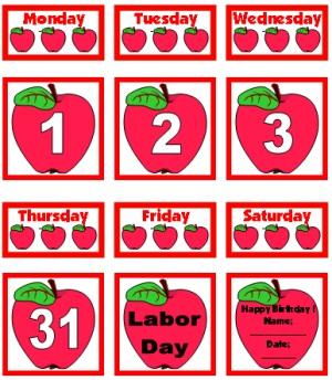 September Printable Calendar