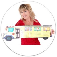 Example of Sequencing School Bus Book Report Project